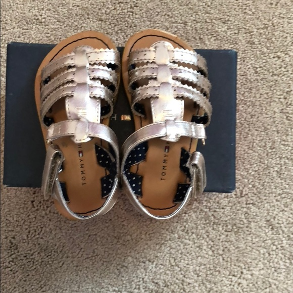 9066d13eb7874 Tommy Hilfiger Shoes | Size 6 Toddler Girls Sandals | Poshmark